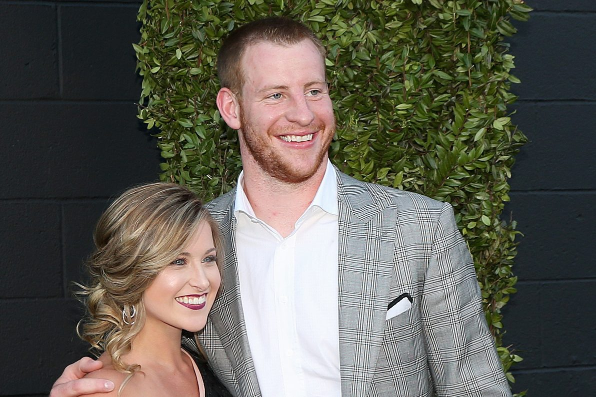 Eagles Carson Wentz Wife Maddie Are Expecting Their First Baby What A Blessing This Child Already Is