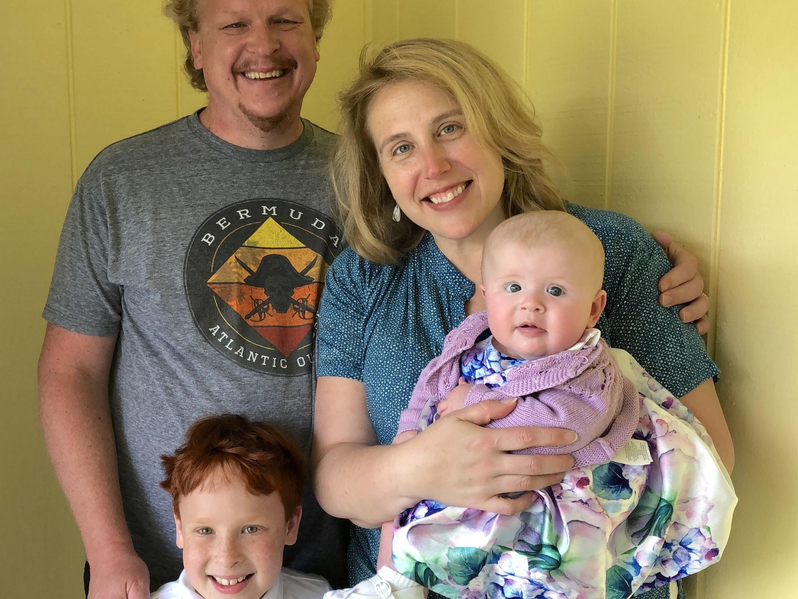The Parent Trip: Kate Harr-Sponsler and Bob Sponsler, of East Falls