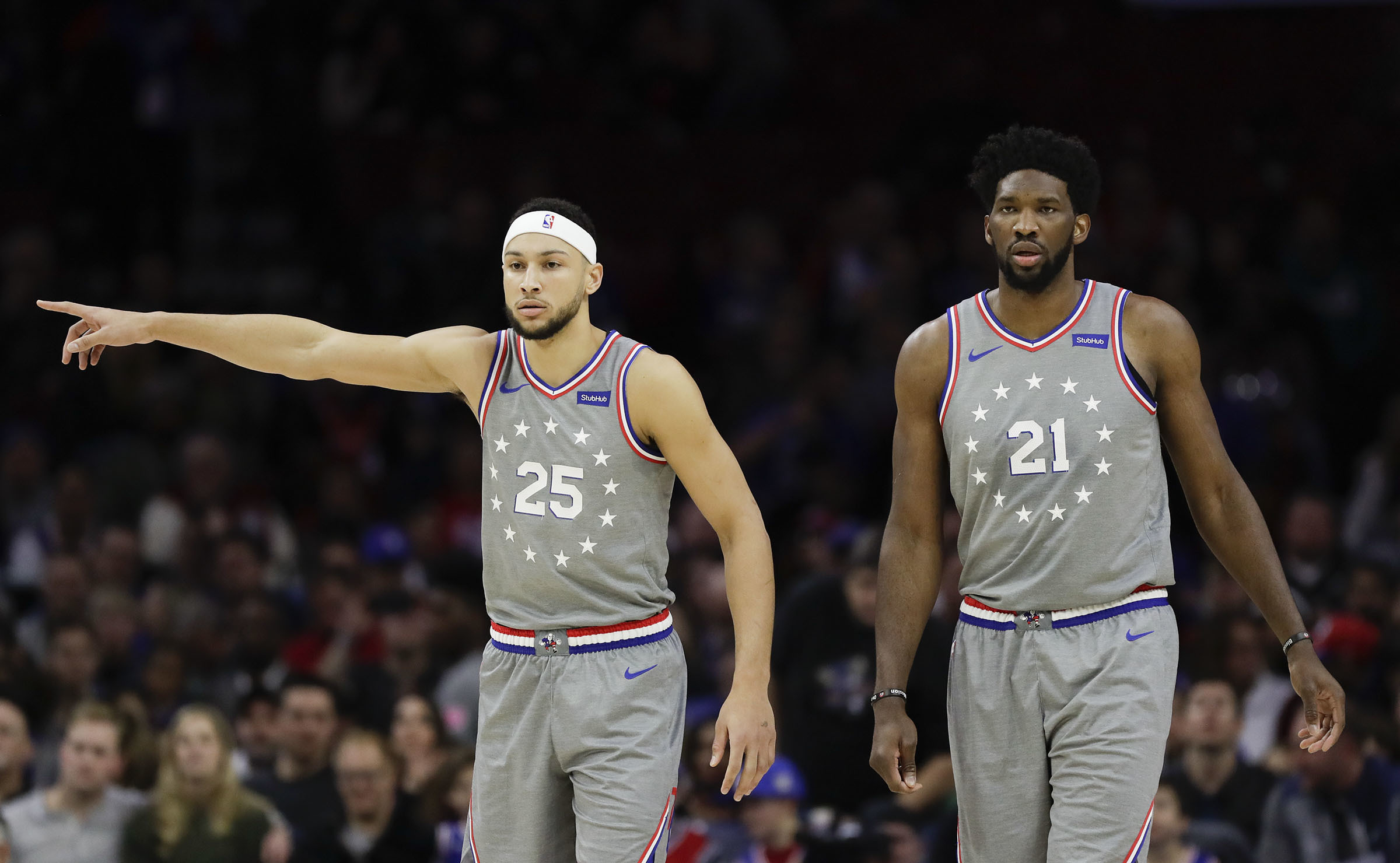 brand new 5af7d 44972 Sixers receive 'Earned Edition' uniforms in honor of playoff ...