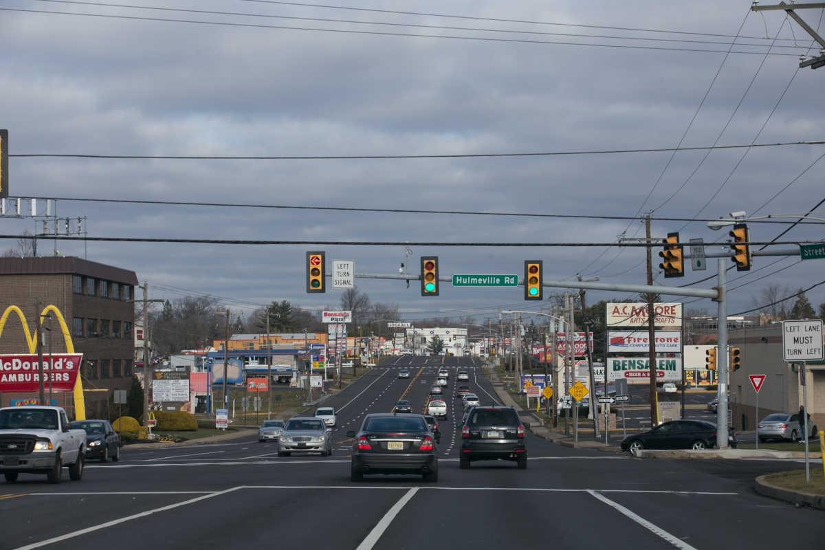 Brake lights, sharp turns, and sudden stops on Bucks County's crash