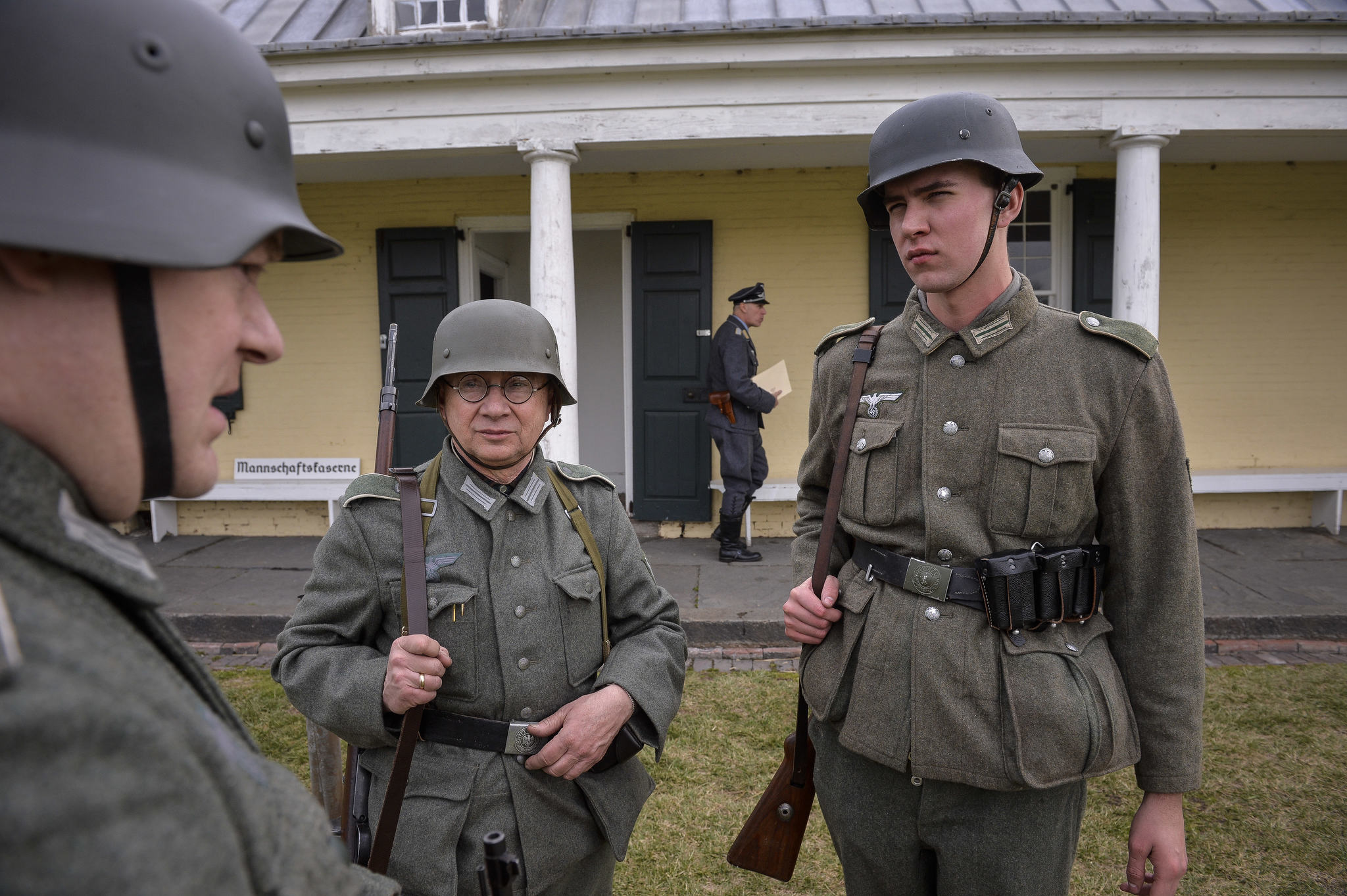 What's with the Nazi reenactors at Fort Mifflin?