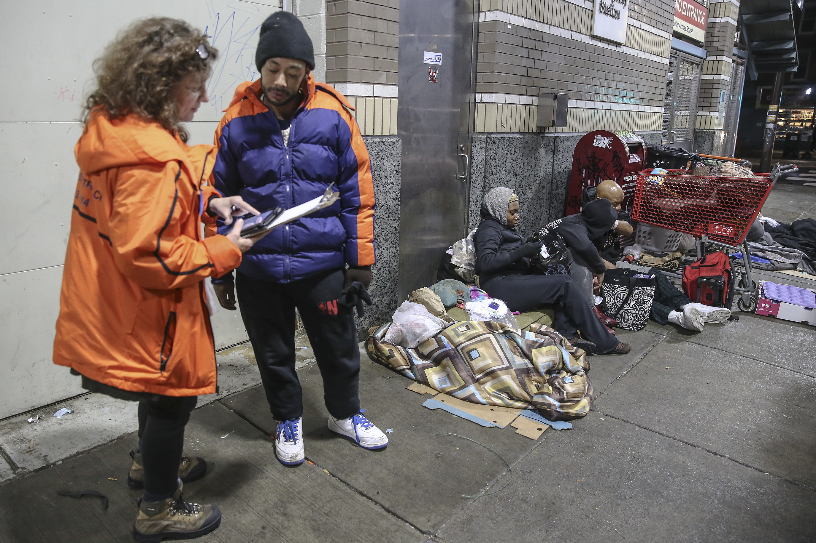 Philadelphia's annual homeless count reveals new realities about the