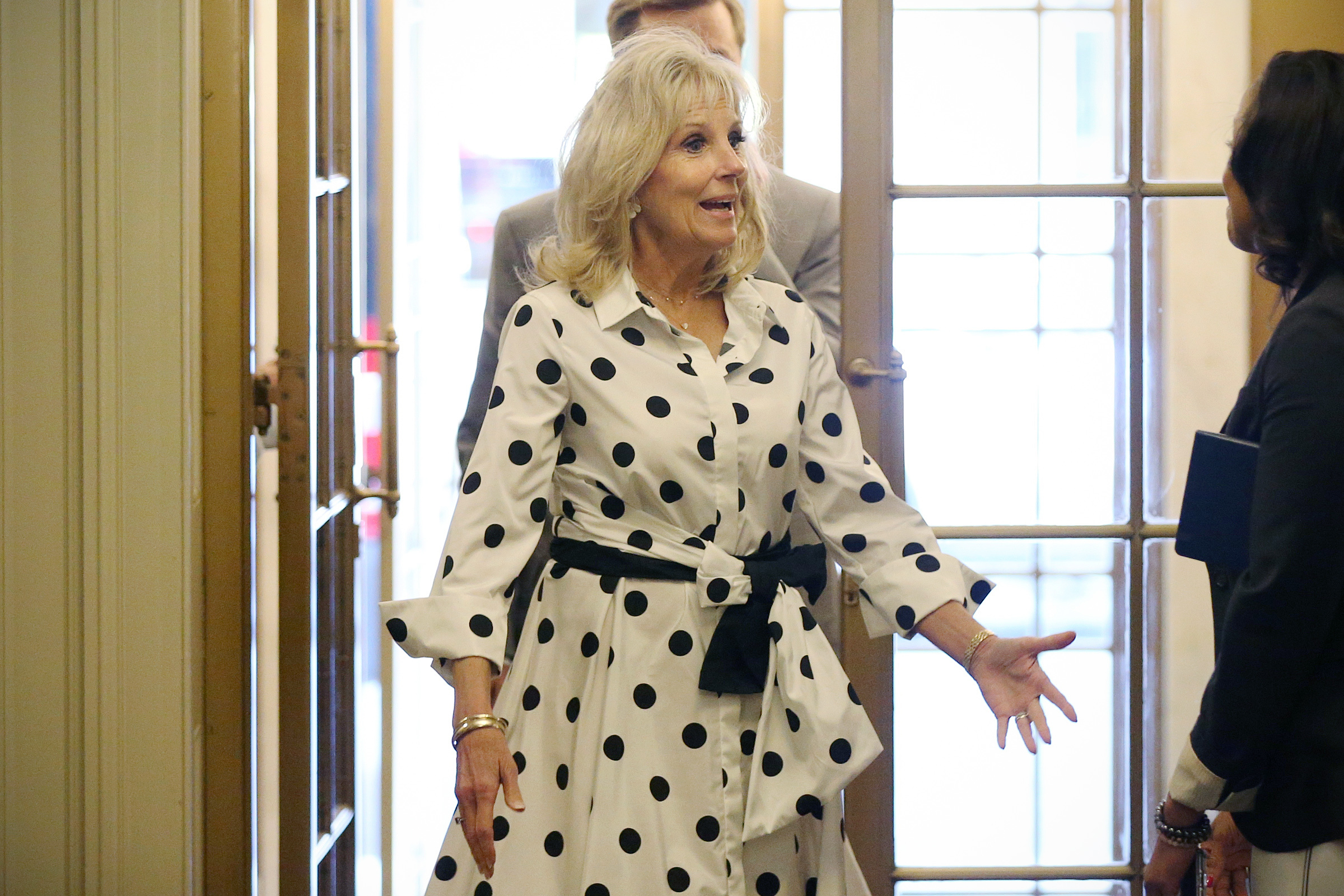 In Philly Jill Biden Says She Doesn T Want Her Granddaughters Fighting Same Fights We Ve Already Won