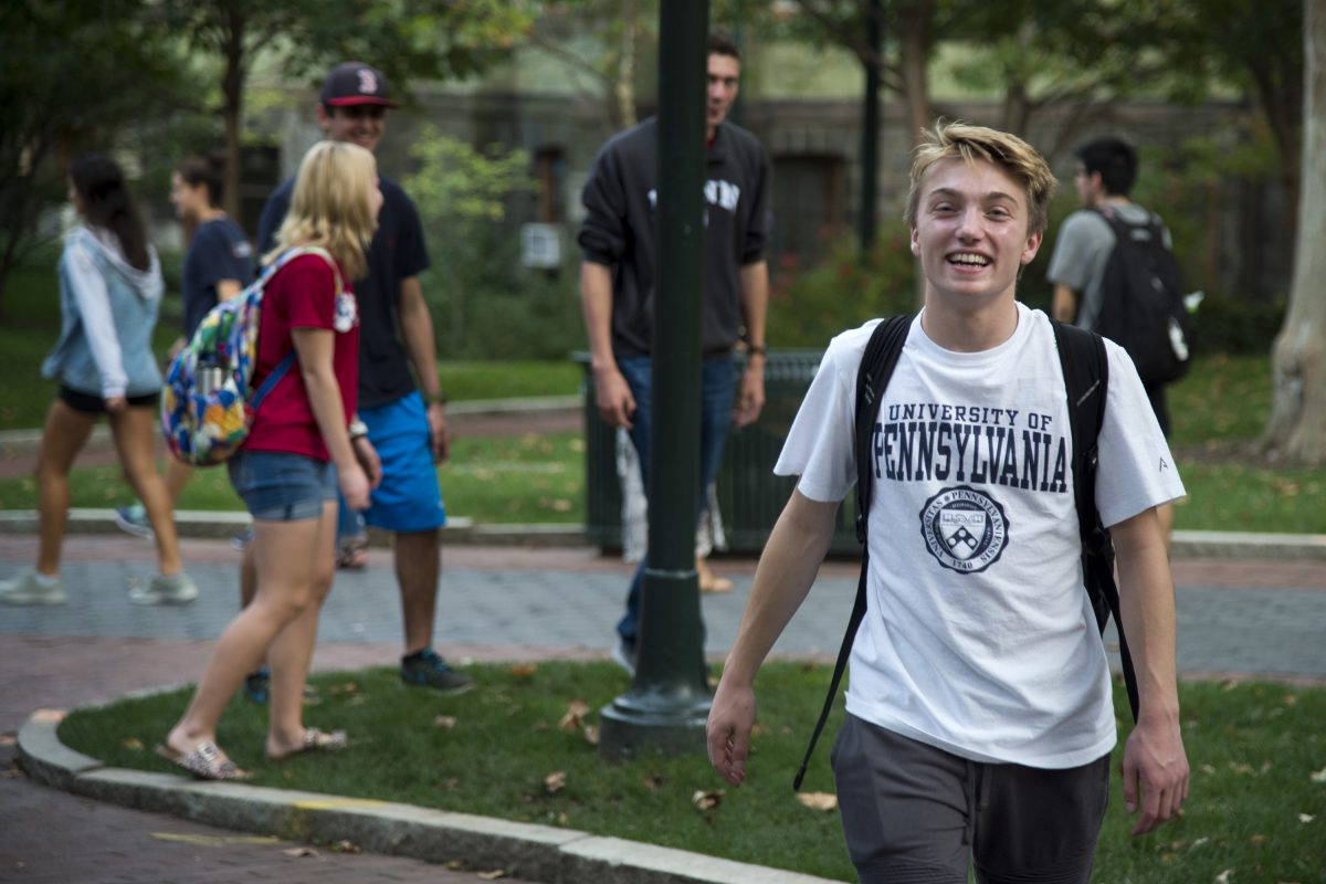 I am lucky to be the first to attend college, but it doesn't define