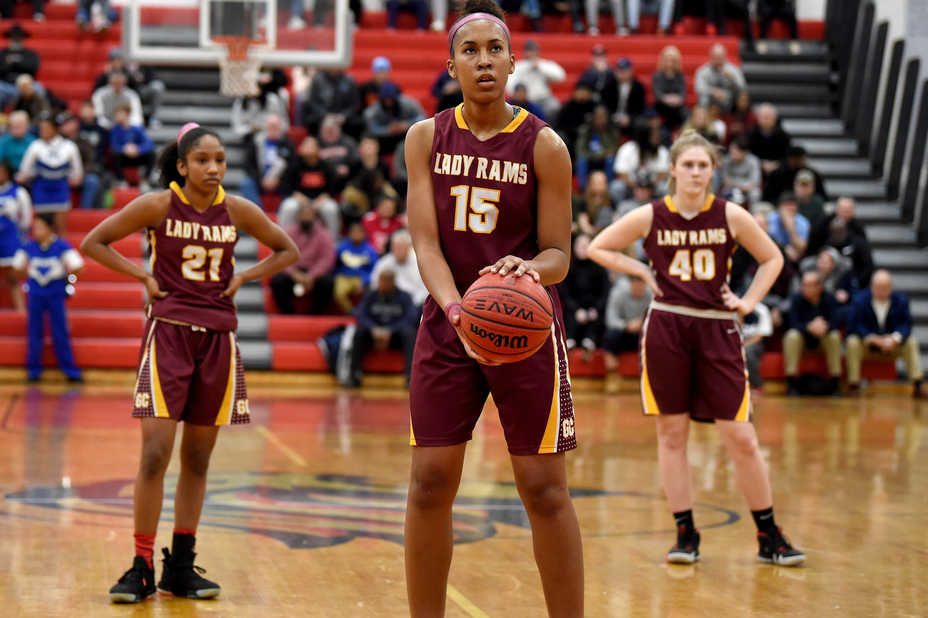 All-South Jersey girls  basketball team  Gloucester Catholic s Azana Baines  is player of the year 615009316e29