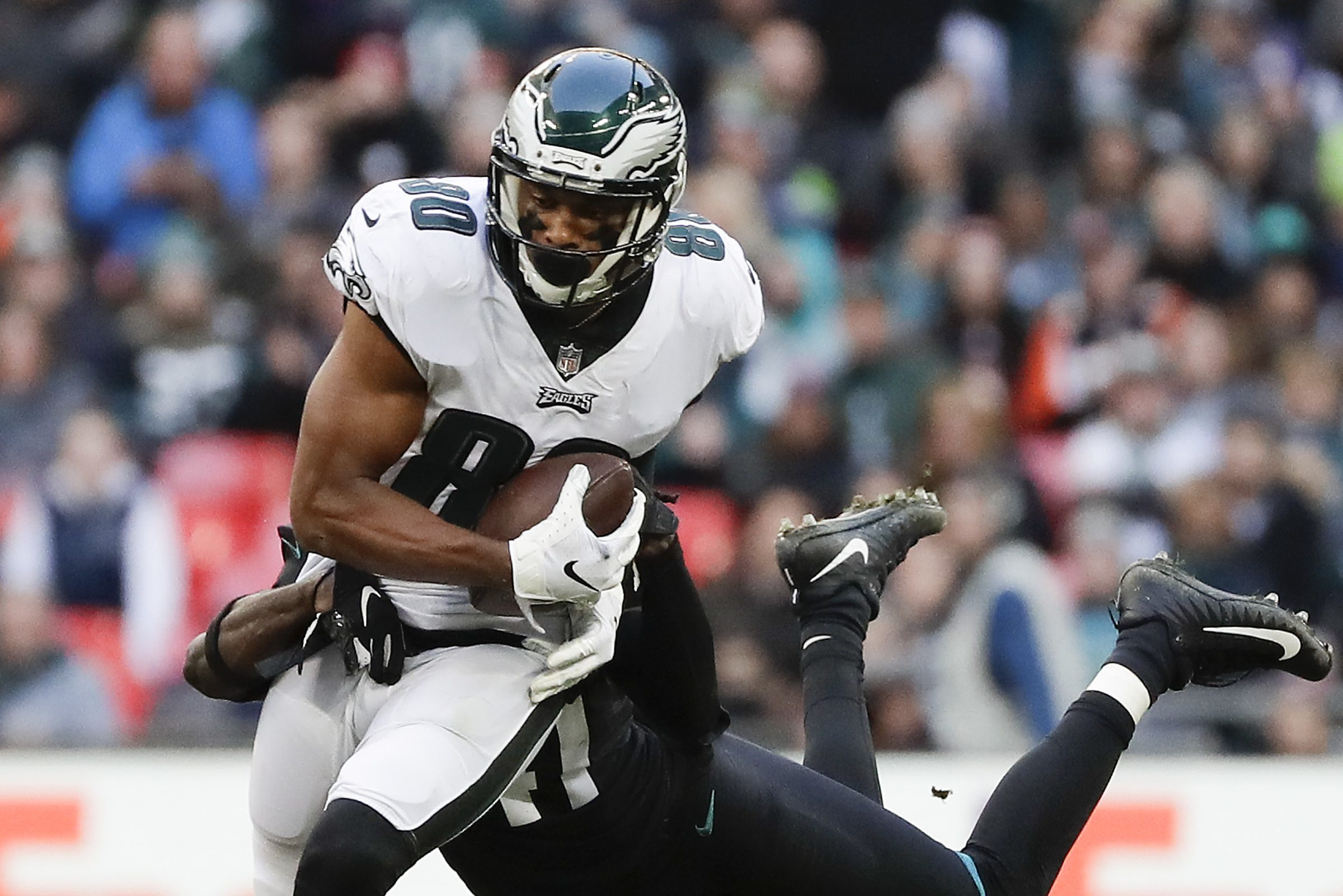 Jordan Matthews is back in familiar spot as Eagles' leading receiver vs. Jaguars — but producing in different ways