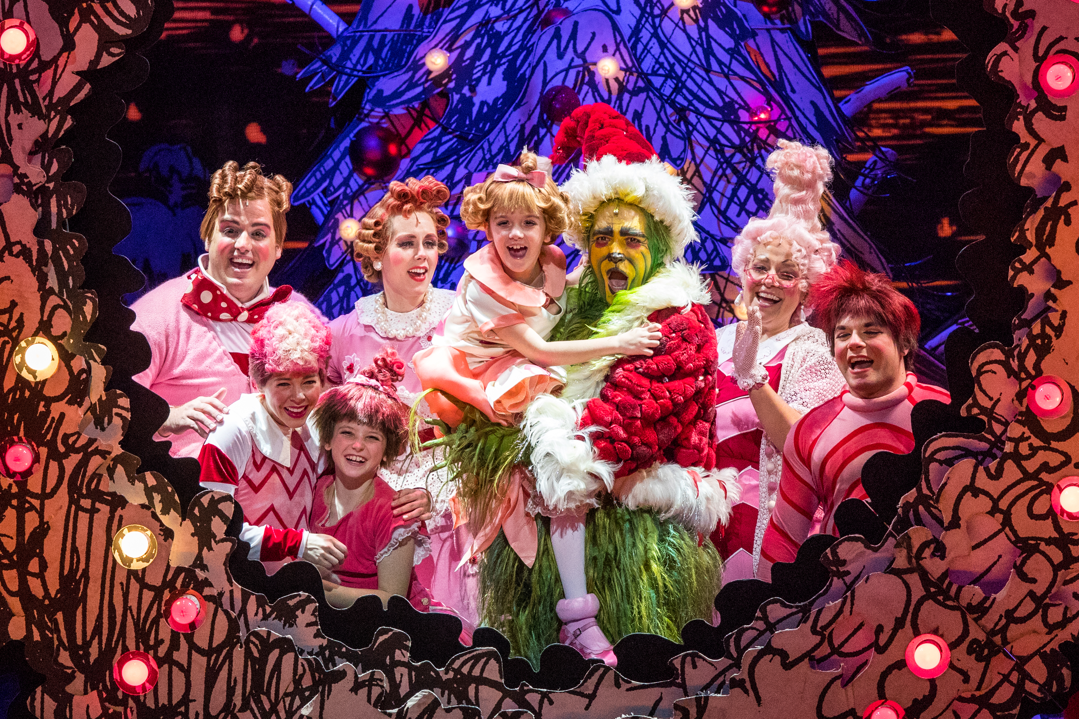 The Grinch Stole Christmas Cast.How The Grinch Stole Christmas At The Merriam Theater Ends