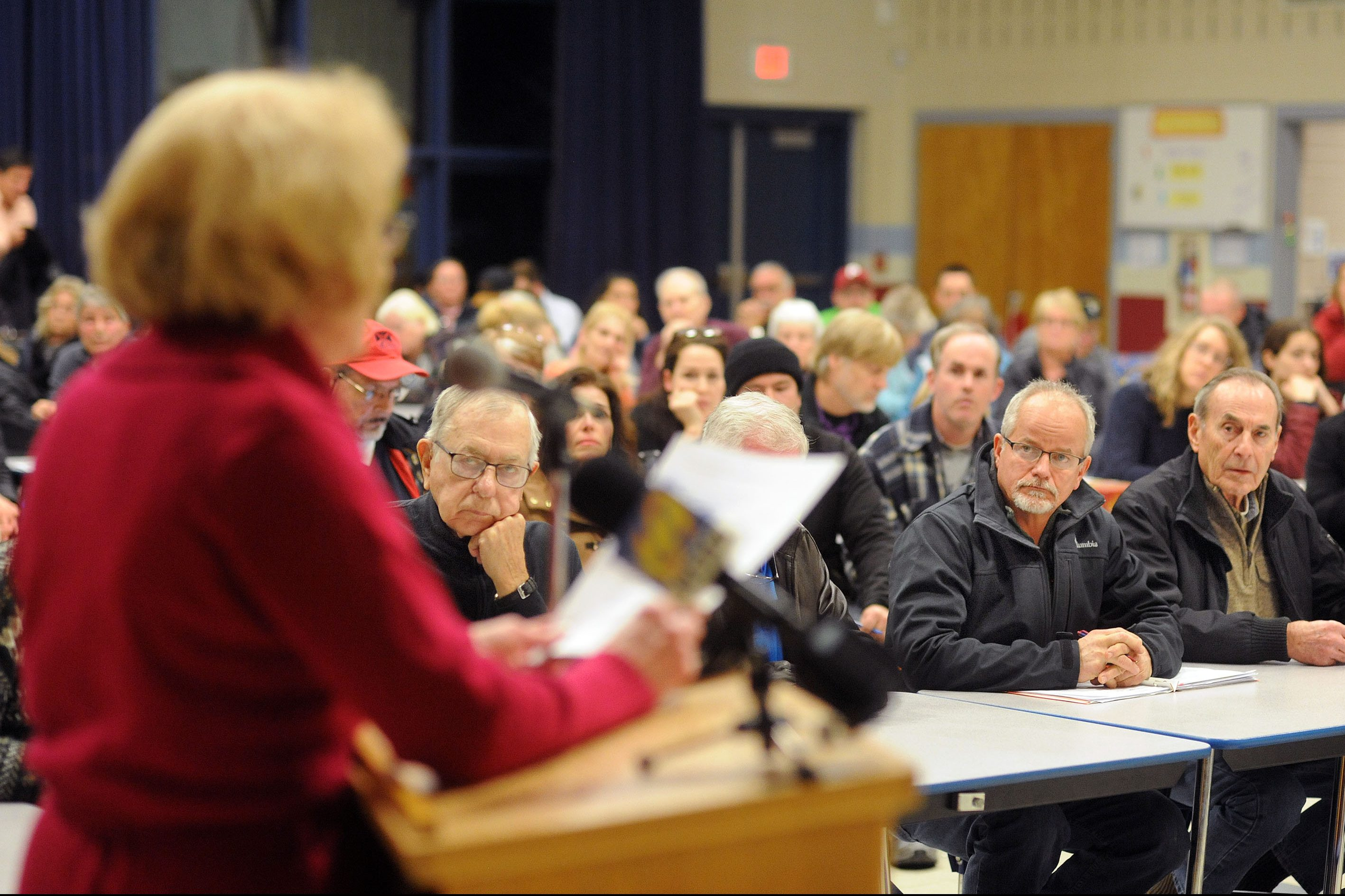 Upper Pipeline Bucks Hearing Residents Lob Complaints Dep At