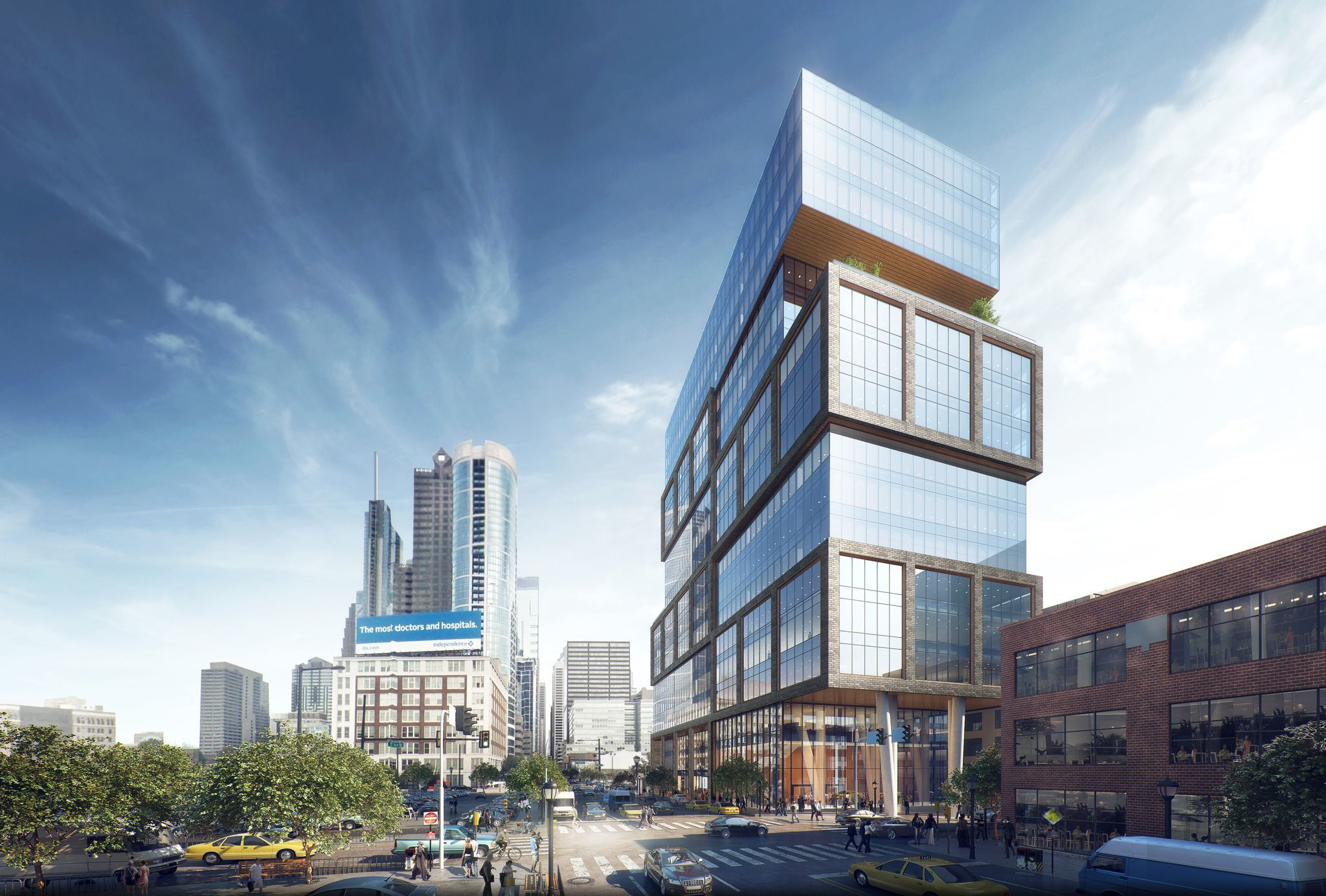Law Firm Lease Clears Way For Center City S First Non Comcast Office Tower In A Generation