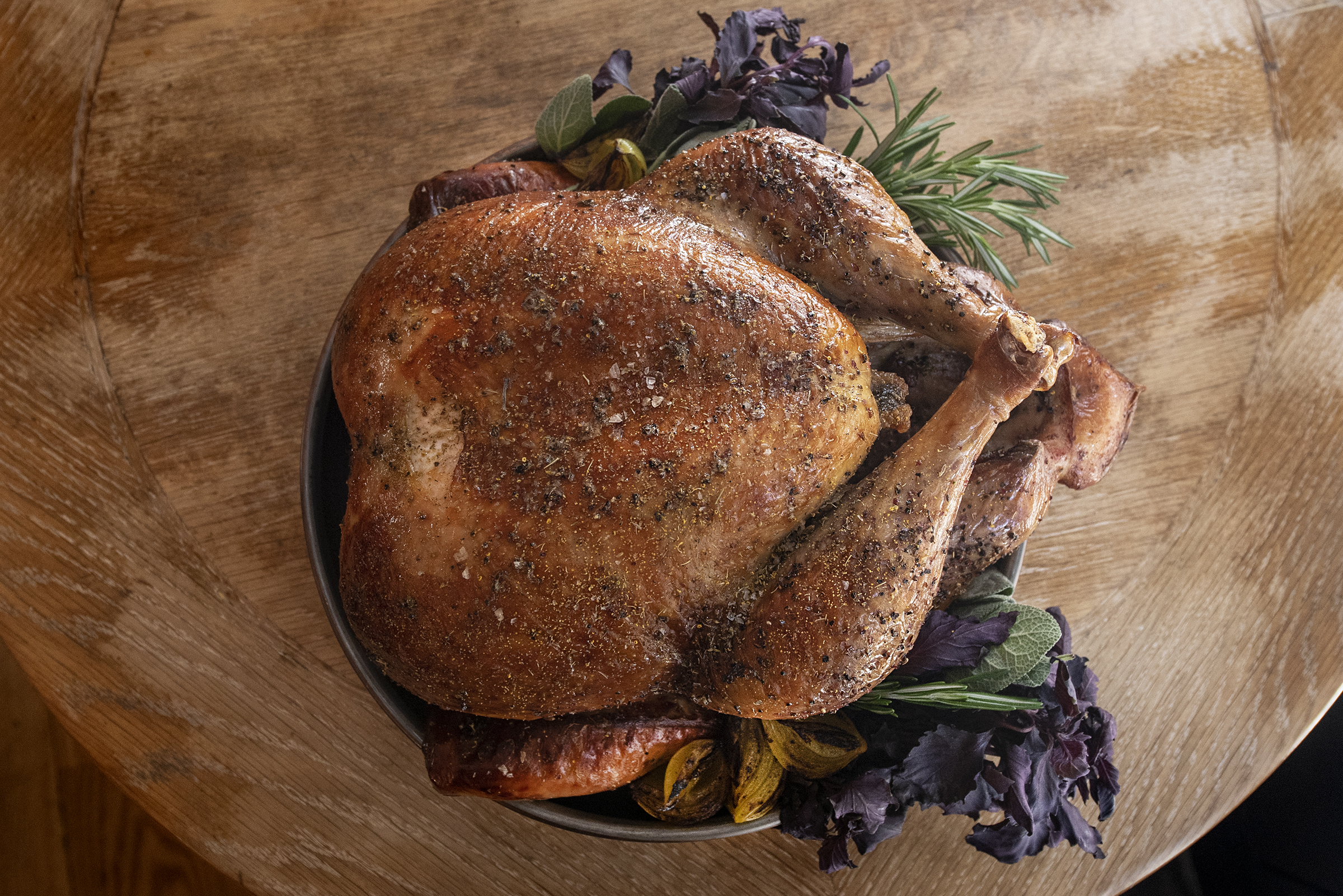 A French country feast for Thanksgiving Day