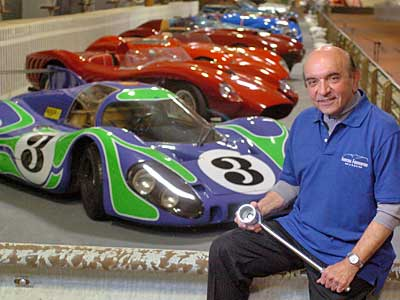 Fast cars fill collector's new museum