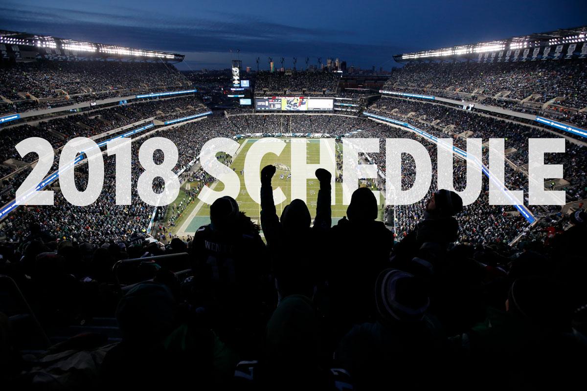 f3e06479 Philadelphia Eagles schedule 2018