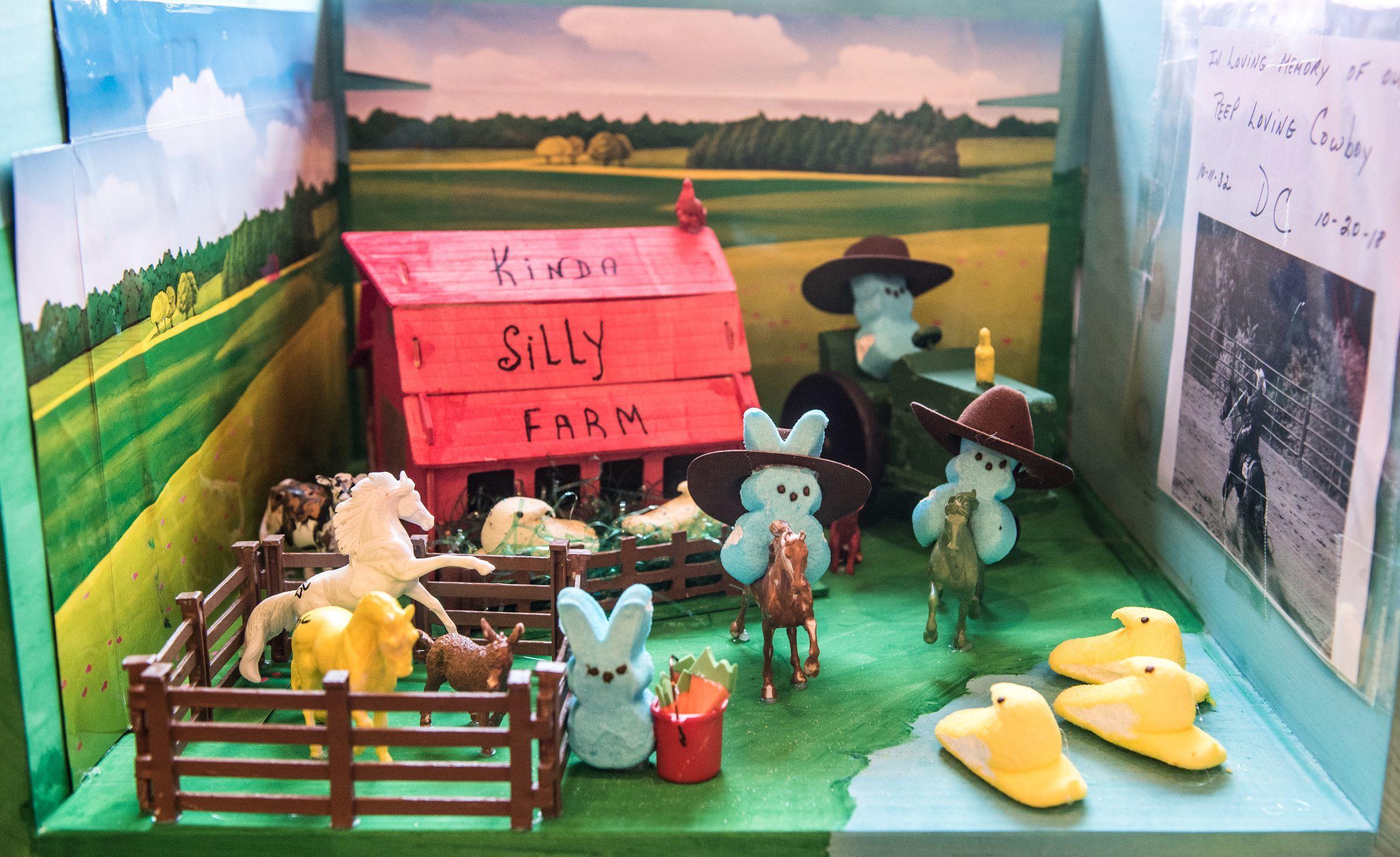 A Peeps diorama contest takes over Peddler's Village — no