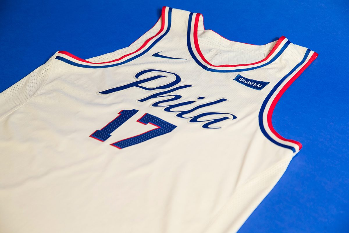 online store 7b3e9 84731 Sixers unveil 'City Edition' uniform
