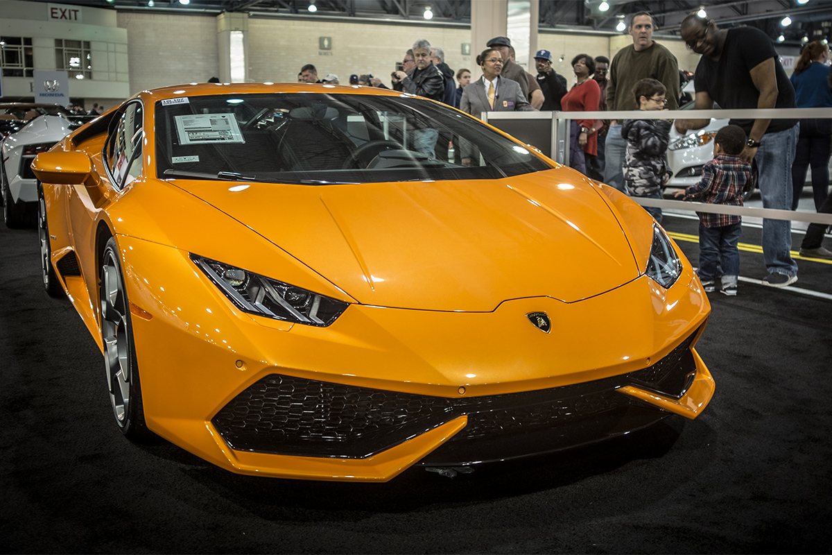 Philly Auto Show Opens With Big Bling